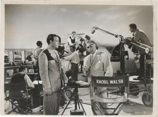 It's a Great Feeling (Original photograph of Raoul Walsh on the set of the 1949 film). David...