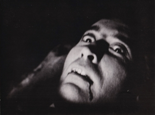Dracula (Two original photographs from the 1958 film). Terence Fisher, Bram Stoker, Jimmy...