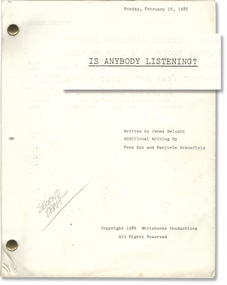 The Birthday Boy [Is Anybody Listening?] (Original screenplay for the 1986 television short). Jim...