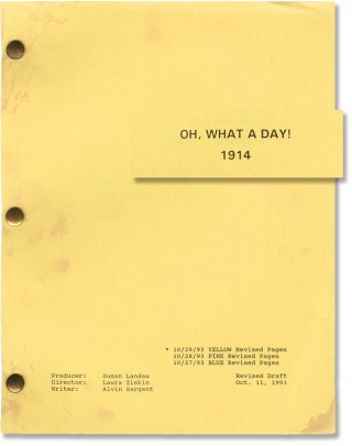 Oh, What a Day! 1914 (Original screenplay for the 1994 short film). Laura Ziskin, Alvin Sargent,...