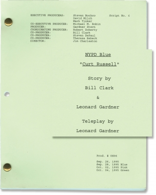 NYPD Blue: Curt Russell (Original screenplay for the 1995 television episode). Jim Charleston,...