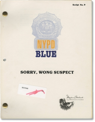 NYPD Blue: Sorry, Wong Suspect (Original screenplay for the 1995 television episode). Michael M....