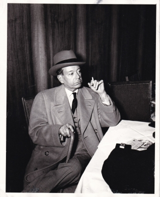 Photograph of Cole Porter, circa 1940s, struck circa 1950s. Cole Porter, subject