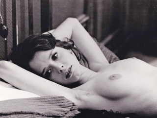Emmanuelle II [The Joys of a Woman] (Original photograph of Sylvia Kristel from the 1975 film)....