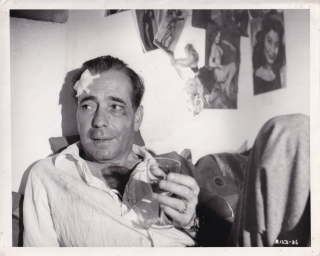 Beat the Devil (Original photograph of Humphrey Bogart on the set of the 1953 film). John Huston,...
