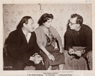 The Rose Tattoo (Original photograph of Tennessee Williams, Anna Magnani, and Daniel Mann from...