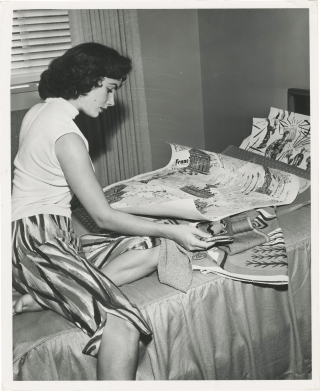 Original photograph of Elizabeth Taylor, 1951