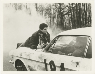 A Man and a Woman [Un Homme et une Femme] (Original photograph of Claude Lelouch from the set of...