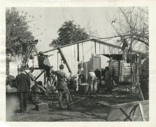 Hallelujah (Two original photographs from the set of the 1929 film). King Vidor, Ruth Harriet...