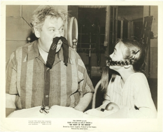 Night of the Hunter (Original photograph of Charles Laughton and child actor Cheryl Callaway on...