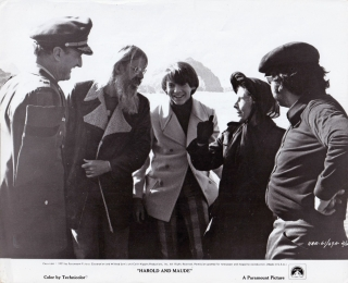 Harold and Maude (Original photograph of Charles Tyner, Hal Ashby, Ruth Gordon, and Bud Cort on...