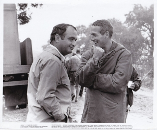 Cool Hand Luke (Original photograph of Stuart Rosenberg and Paul Newman on the set of the 1967...
