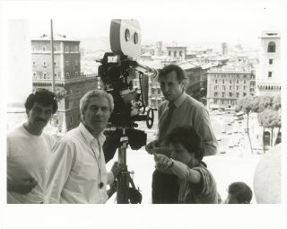 The Belly of an Architect (Original photograph from the set of the 1987 film). Peter Greenaway,...
