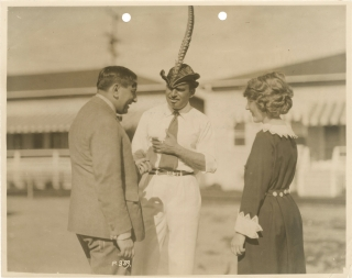 Original photograph of Ernst Lubitsch, Douglas Fairbanks, and Mary Pickford, circa 1923. Ernst...