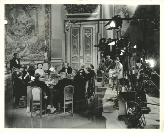 Juarez (Original photograph from the set of the 1939 film). William Dieterle, Bertita Harding,...