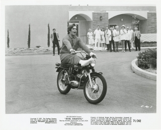 Evel Knievel (Collection of six original photographs from the 1971 film). Marvin J. Chomsky, John...