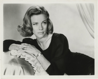Original publicity photograph of Honor Blackman, circa 1960s. Honor Blackman, subject