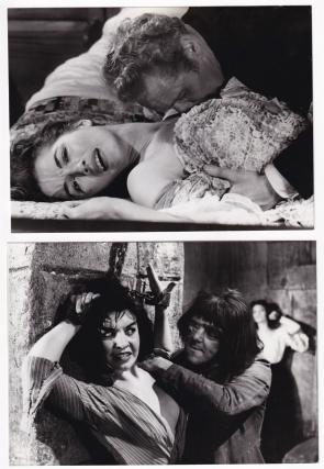 Blood of the Vampire (Collection of four original photographs from the 1958 film). Henry Cass,...