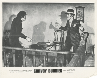 Convoy Buddies (Collection of four original photographs from the 1975 film). Giuliano Carnimeo,...