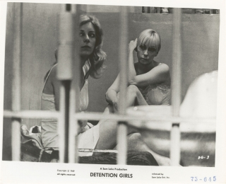 The Detention Girls (Collection of eight original photographs from the 1969 film). John...