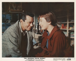 The Trouble with Harry (Complete set of ten original color photographs from the 1955 film)....