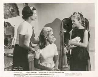 13 Frightened Girls (Collection of eight original photographs from the 1963 film). William...