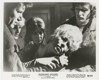 Bloodthirsty Butchers (Collection of eight original photographs from the 1970 film). Andy...