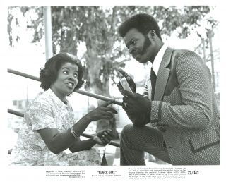 Black Girl (Collection of four original photographs from the 1972 film). Ossie Davis, J E....