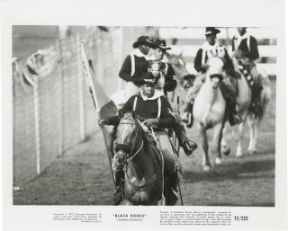Black Rodeo (Collection of eleven original photographs from the 1972 film). Jeff Kanew, Woody...