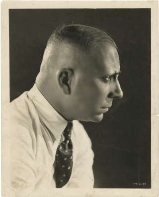 The Wedding March (Original portrait photograph of Erich von Stroheim for the 1928 film). Erich...