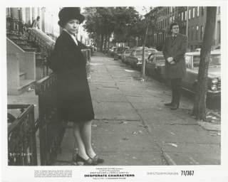 Desperate Characters (Collection of eight original photographs from the 1971 film). Frank D....