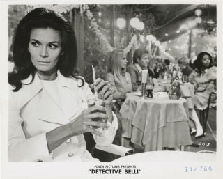 Detective Belli (Collection of eight original photographs from the US release of the 1969 film)....