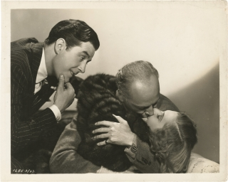 Easy Living (Original photograph of Ray Milland, Mitchell Leisen, and Jean Arthur from the set of...
