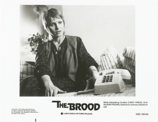 The Brood (Collection of eight original photographs from the 1979 film). David Cronenberg,...