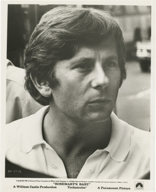 Rosemary's Baby (Original photograph of Roman Polanski from the set of the 1968 film). Roman...