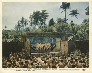 The Bridge on the River Kwai (Collection of five original photographs from the 1957 film). David...