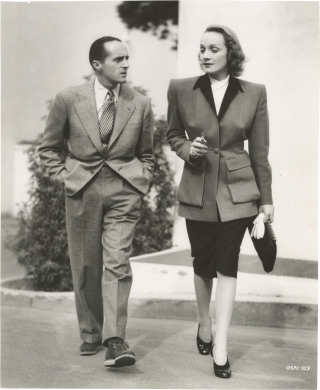 The Flame of New Orleans (Original press photograph of Rene Clair and Marlene Dietrich to promote...