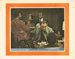 Across 110th Street (Collection of seven original color photographs from the 1972 film). Barry...
