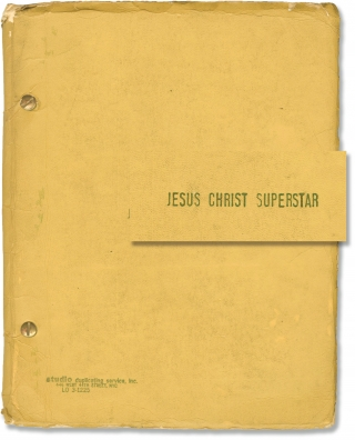 Jesus Christ Superstar (Vintage script for the 1977 Broadway stage musical). Andrew Lloyd Webber,...