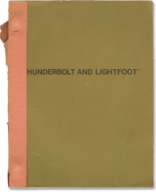 Thunderbolt and Lightfoot (Original screenplay for the 1974 film). Michael Cimino, Jeff Bridges...