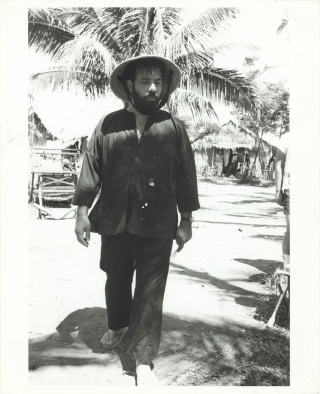 Apocalypse Now (Original photograph of Francis Ford Coppola from the set of the 1979 film)....