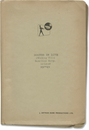 Doctor in Love (Original screenplay for the 1960 film). Ralph Thomas, Richard Gordon, Nicholas...