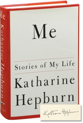 Me (Signed First Edition). Katharine Hepburn
