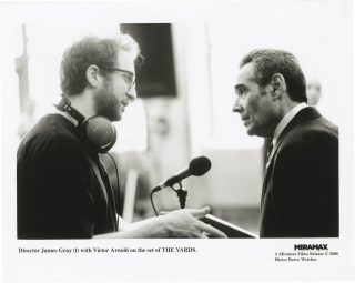 The Yards (Original photograph from the set of the 2000 film). James Gray, Barry Wetcher, Matt...