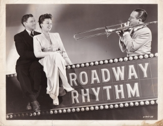Broadway Rhythm (Original publicity photograph from the 1944 film). Roy Del Ruth, Oscar...