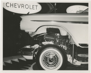 Archive of 31 photographs of the General Motors Motorama, 1961