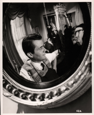 The Servant (Original photograph of Dirk Bogarde, Joseph Losey, James Fox, Joseph Slocombe, and...