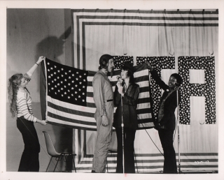 FTA (Collection of five original photographs from the 1972 film). Francine Parker, Donald...