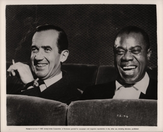 Satchmo the Great (Original photograph of Louis Armstrong and Edward R. Murrow from the 1957...