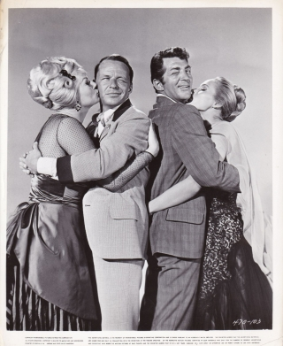 4 for Texas (Two original photographs from the 1963 film). Robert Aldrich, Teddi Sherman, Dean...